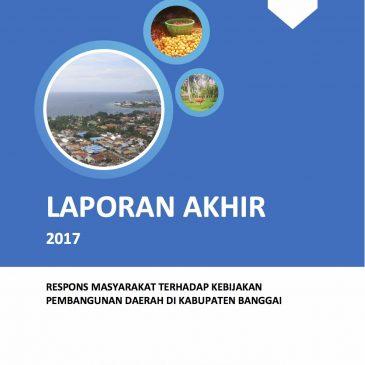 Respons Masyarakat Terhadap Pembangunan Daerah Di Kabupaten Banggai, Sulawesi Tengah